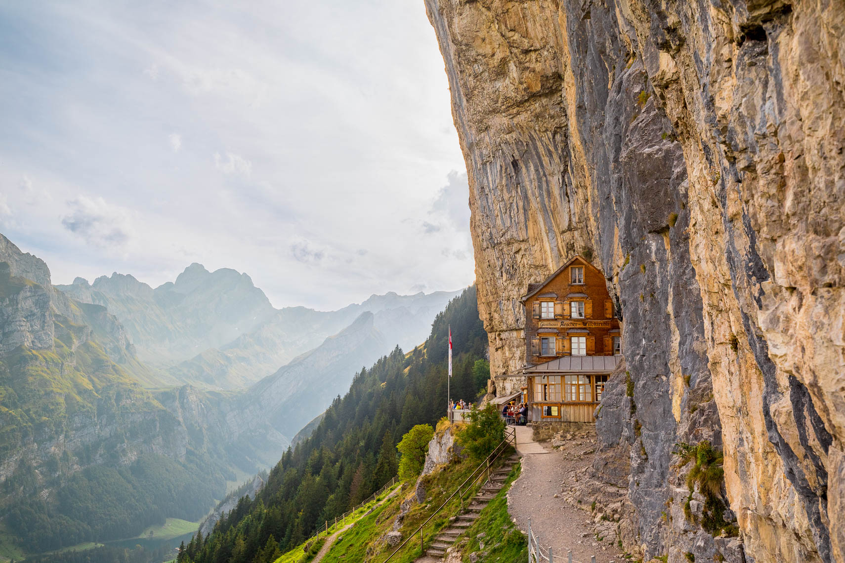 Aescher Alps Mountain Hut
